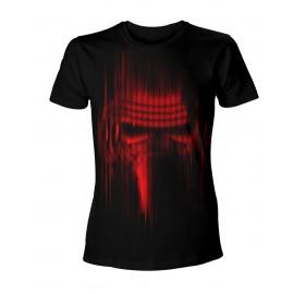 T-Shirt Star Wars VII L'Eveil De La Force Kylo Ren Lignes Rouges