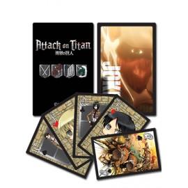 Cartes à jouer Attack On Titans