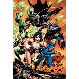 Poster Justice League Charge