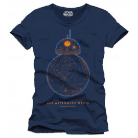 T-Shirt Star Wars Episode VII BB-8 Astromech Droid Astromech Droid