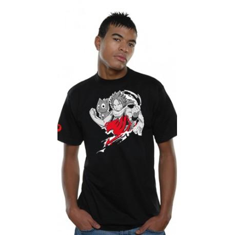 T-Shirt Fairy Tail Natsu Cloud