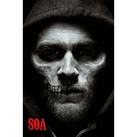 Poster Sons Of Anarchy Jax Skull