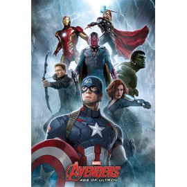 Poster Avengers l'Ere d'Ultron Encounter