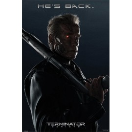 Poster Terminator Genisys He Is Back