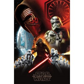 Poster Star Wars Episode VII First Order