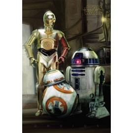 Poster Star Wars Episode VII Droids