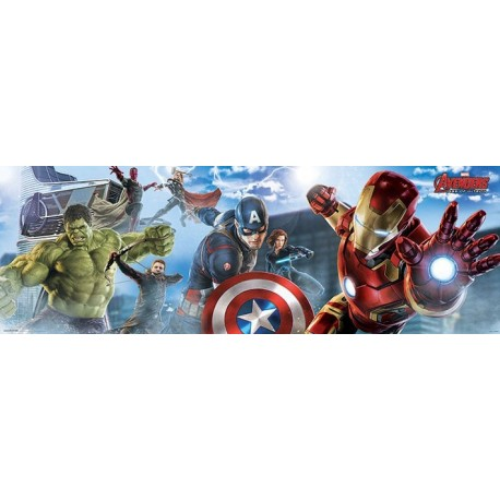 Poster Avengers l'Ere d'Ultron Skyline