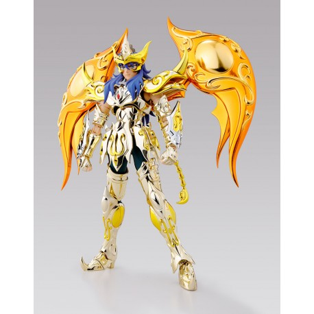 Figurine Saint Seiya Soul Of Gold Myth Cloth EX Milo du Scorpion Armure Divine God Cloth