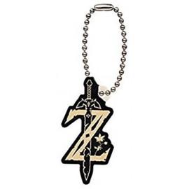 Porte-clés gashapon The Legend Of Zelda Breath Of The Wild Mascot Logo Z Icon