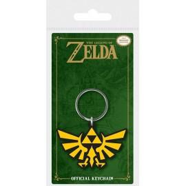 Porte-clés en caoutchouc The Legend Of Zelda Triforce