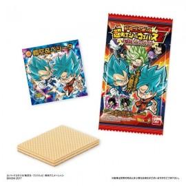 Boîte de 20 sticker + gaufrettes Dragon Ball Chosenshi Seal Wafer Z