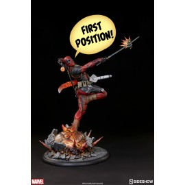 Statuette Marvel Comics Premium Format Deadpool Heat-Seeker
