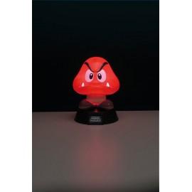 Lampe veilleuse 3D Super Mario Bros Goomba
