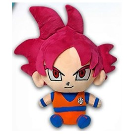 Figurine en peluche Dragon Ball Super Sangoku SSJ God