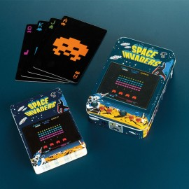 Cartes à jouer Space Invaders