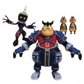 Pack de figurines Kingdom Hearts Select Série 2 Pete, Chip & Dale, Soldier