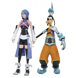 Pack de figurines Kingdom Hearts Select Série 2 Aqua, Birth by Sleep Goofy