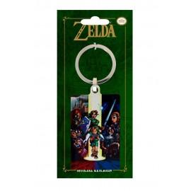 Porte-clés en métal The Legend of Zelda Ocarina of Time