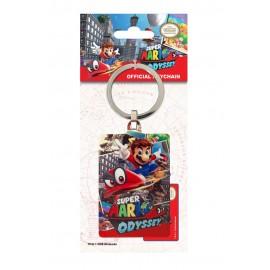 Porte-clés en métal Super Mario Odyssey