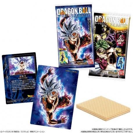 Carte + gaufrette Dragon Ball Card Wafer Unlimited