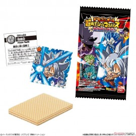 Sticker + gaufrette Dragon Ball Super Warrior Wafer Z Vol.8