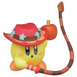 Figurine Kirby's Battle Deluxe Manmaru Mascot Kirby Jaune avec Fouet