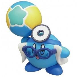 Figurine Kirby's Battle Deluxe Manmaru Mascot Kirby Bleu Docteur