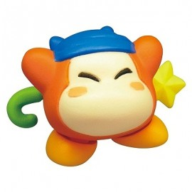 Figurine Kirby's Battle Deluxe Manmaru Mascot Waddle Dee avec Bandana