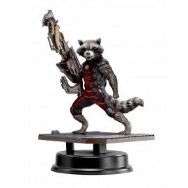 Les Gardiens de la Galaxie Action Hero Vignette 1/9 Rocket Raccoon Red Suit Version