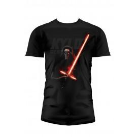 T-Shirt Star Wars VII Le Réveil De La Force Kylo Ren Sabre Laser