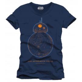 T-Shirt Star Wars Episode VII BB-8 Astromech Droid Astromech Droid