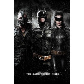 Poster Batman The Dark Knight Rises Three