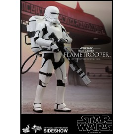 Figurine Hot Toys Movie Masterpiece Star Wars Episode VII 1/6 First Order Flametrooper