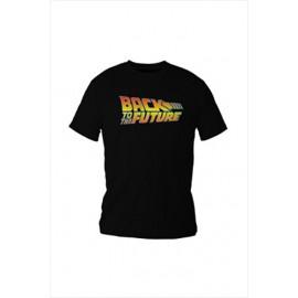 T-Shirt Retour Vers Le Futur Logo