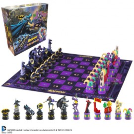 Jeu d'échecs Batman Dark Knight Vs. Joker