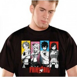 T-Shirt Fairy Tail Guilde Noir