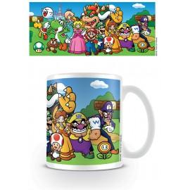 Mug Super Mario Bros. Characters