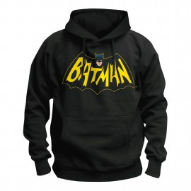 Sweat-Shirt à capuche Batman Classic 1966 TV Series Logo