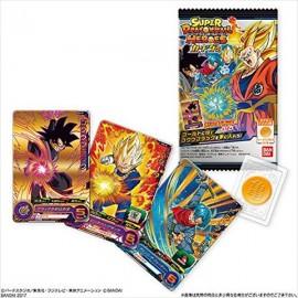 Carte + bonbon Super Dragon Ball Heroes Card Gumi