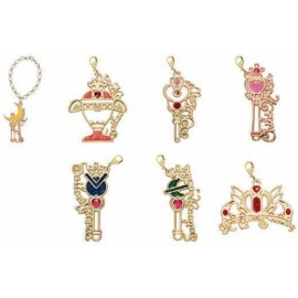 Lot de 7 pendentifs breloque Sailor Moon Wire Art Charm
