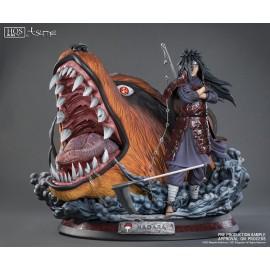 Statuette en résine Naruto HQS+ Madara Uchiha & Kyuubi