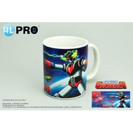Mug UFO Robot Grendizer Goldorak et soucoupe d'Hydargos