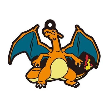 Porte-clés en caoutchouc Pokémon Rubber Mascot 4 Dracaufeu