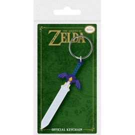 Porte-clés en caoutchouc The Legend Of Zelda Master Sword