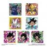 Sticker + gaufrette Dragon Ball Chosenshi Seal Wafer Z