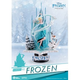Diorama D-Select La Reine Des Neiges