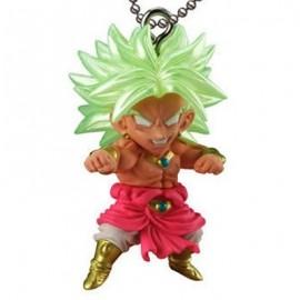 Porte-clés figurine Dragon Ball Super Ultimate Deformed Mascot The Best 22 Broly Super Saiyan