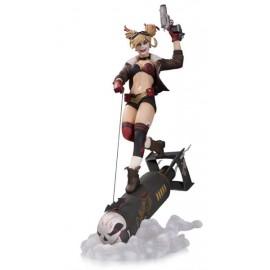 Statuette DC Comics Bombshells 1/8 Deluxe Harley Quinn