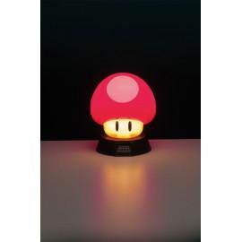 Lampe veilleuse 3D Super Mario Bros Champignon