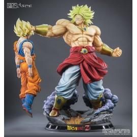 Statuette en résine Dragon Ball Z HQS+ Broly le Super Saiyan Légendaire